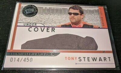 $4.99 • Buy Tony Stewart 2007 Press Pass Under Cover Event Used Car Cover /450 NASCAR Card