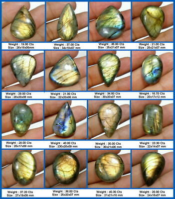 AU11.75 • Buy Choose From A Selection Of 16 Natural African Golden Labradorite Gemstones