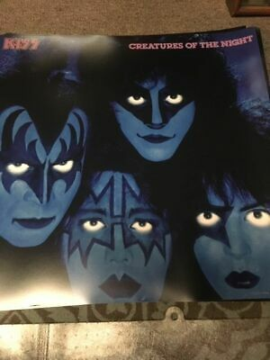 Kiss Creatures Of The Night Eric Carr Ace Frehley Gene Simmons Kiss Poster • 9.78£