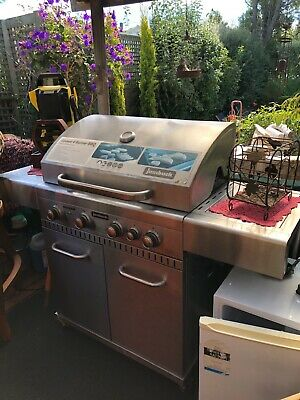AU150 • Buy Used Comet Jumbuck 4 Burner Gas Bbq Incl Gas Bottle And Fittings. Excellent Cond