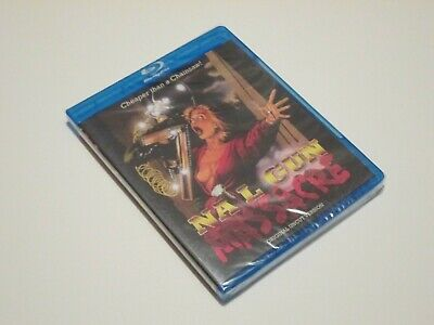 NAIL GUN MASSACRE (1985) Blu-Ray CODE RED • 42.91£