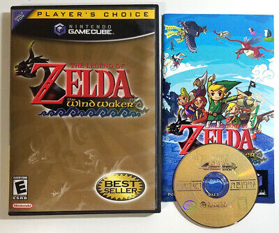 $45 • Buy Legend Of Zelda: Wind Waker (Nintendo GameCube) Disc Case Manual Player's Choice