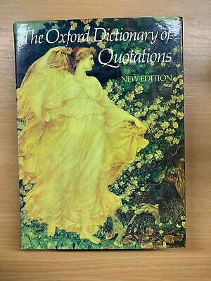 £2.24 • Buy 1981  The Oxford Dictionary Of Quotations  Large Heavy Hardback Book (xx)