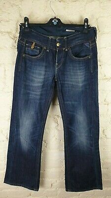 REPLAY 'Janice' Slouch Fit Boyfriend Ladies Jeans Size: W 26 L 32 VERY GOOD Cond • 19.99£