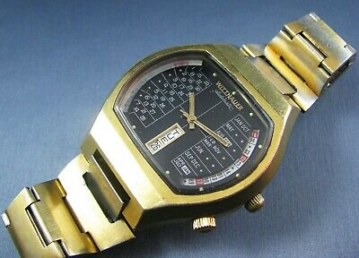 $ CDN224.87 • Buy Vintage Longines Wittnauer Automatic Perpetual Calendar Mens Watch Gold Plated
