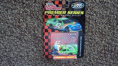 $1 • Buy 2000 Kenny Irwin #42   BELLSOUTH   1/64 Racing Champions Car With Cover Nascar