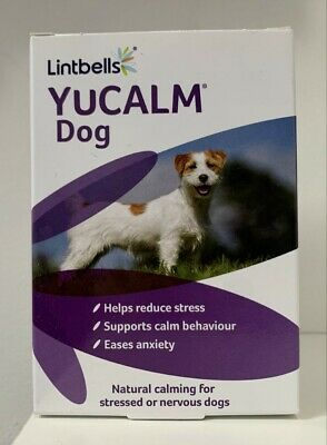 £13.47 • Buy Lintbells YuCALM DOG Calming Supplement For Stress & Anxiety 30,60,90 & 120 Tabs