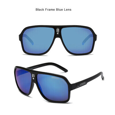 AU16.59 • Buy Carrera Retro Unisex Aviator Sunglasses  Black  Glasses Men Women With Brand Box