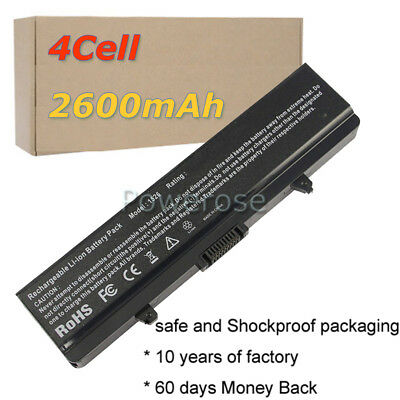 14.8V 28wh FOR DELL INSPIRON 1545 TYPE GW240 LAPTOP BATTERY 4-CELL (1525 1545 ) • 12.96£