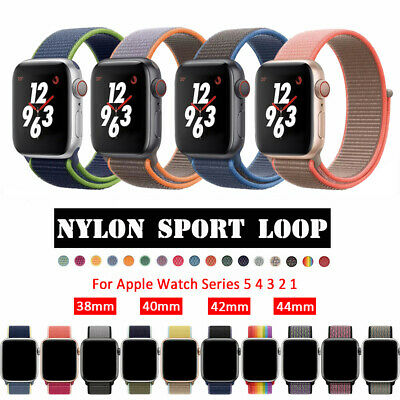 $ CDN8.43 • Buy Nylon Sports Band Strap For Apple Watch 38/40/42mm/44mm IWatch Series 5 4 3 2 1