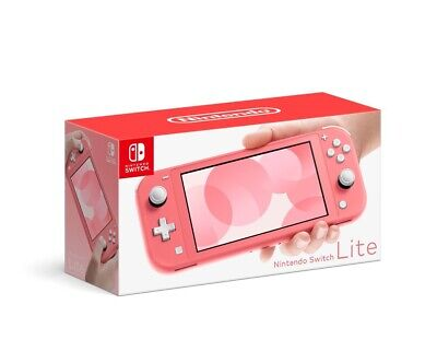 $ CDN374.95 • Buy Nintendo Switch Lite Coral Switch In Hand