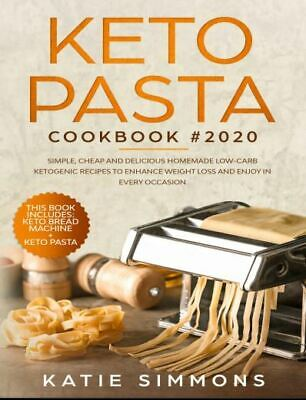 $1.77 • Buy Keto Pasta Cookbook #2020  This Book Includes  Keto Bread Machine  Eb00k/PDF