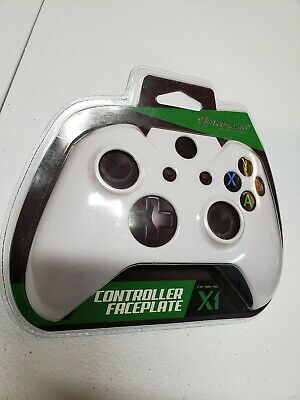 $6.80 • Buy Solid White Face Plate Front Housing Shell Mod For Xbox One Wireless Controller