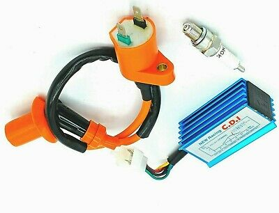 $46.95 • Buy Performance Racing CDI Ignition Coil Spark Plug For Gy6 50 125 150cc Scooter ATV
