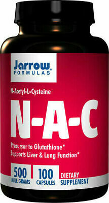 AU29.95 • Buy Jarrow Formulas, NAC, 500mg, 100 Tabs, N-Acetyl-L-Cysteine, Buy NOW