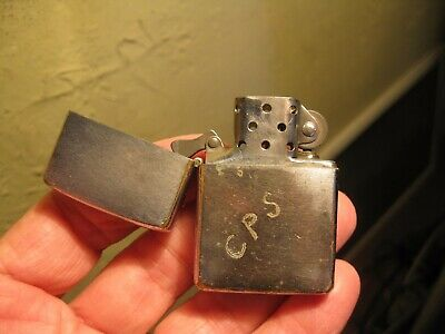 $8.50 • Buy 1966 Zippo Pat 2517191 Lighter W/ NEW Flint IT SPARKS & Later Insert