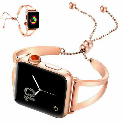 $ CDN25.44 • Buy For Apple Watch IWatch 38mm 42mm New Style Hollow Metal Aluminum Wrist Band