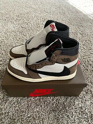 $550 • Buy Travis Scott Cactus Jack X Air Jordan 1 High Retro OG Size 8.5