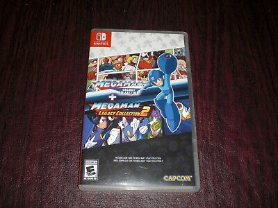 $24.99 • Buy Megaman Legacy Collection + 2 Game Lot Bundle Nintendo Switch Games TESTED WORKS