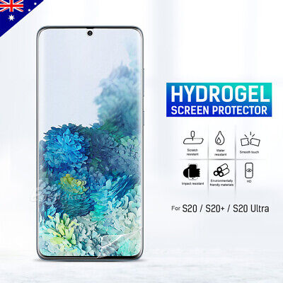 AU3.95 • Buy For Samsung Galaxy S20 FE Plus S20 Ultra 5G HYDROGEL Full Cover Screen Protector