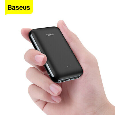 AU24.99 • Buy Baseus Power Bank 10000mAh Mini Fast Charge Portable Battery With Display Screen