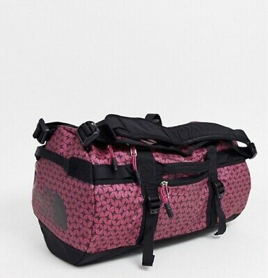 New The North Face BASE CAMP Travel DUFFEL Backpack Festival Pink -EXTRA SMALL • 79.99£