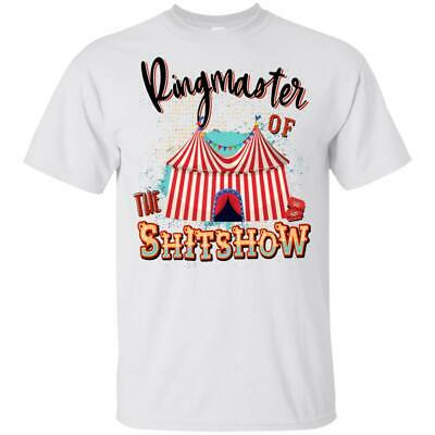 $ CDN21.46 • Buy Ringmaster Of The Shitshow Whitte Unisex T-Shirt Size S-6XL Vintage Funny Retro