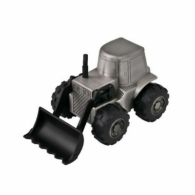 AU59.95 • Buy Tractor Front End Loader Pewter Finish Money Box W/ Personalised Engraving