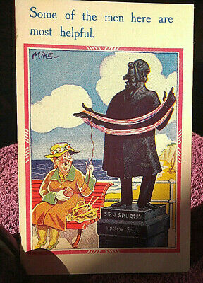Saucy Seaside Postcard By Inter - Art - Unposted  -  FREE POSTAGE** • 3.10£