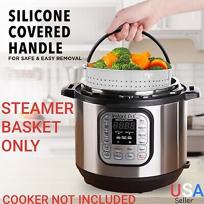 $19.95 • Buy Steamer Basket For Instant Pot 6 - 8 QT Pressure Cooker Accessories Instapot 6QT