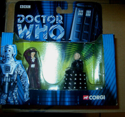 £14.90 • Buy Doctor Who Tom Baker 4th Doctor And Davros  Die Cast Set By Corgi New Shop Stock