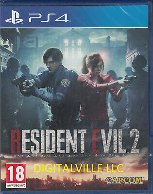 $26.99 • Buy Resident Evil 2 PS4 Brand New Factory Sealed PlayStation 4