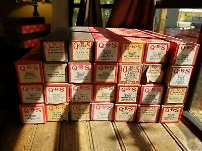 $ CDN23.81 • Buy Choose 2 QRS Player Piano Word Rolls Mixed J. Lawrence Cook 27 Available