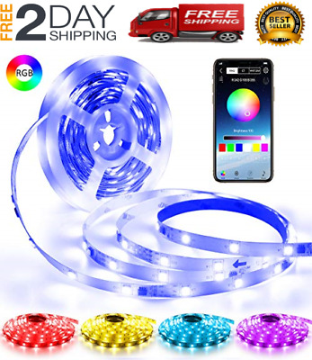 $28.99 • Buy Led String Strip Lights Color Changing Lamps Indoor Room Home Good For Party