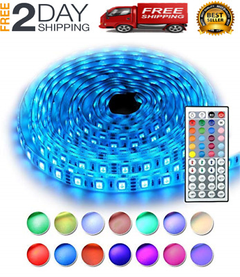 $26.99 • Buy Led String Strip Lights Color Changing Lamps Indoor Room Home Good For Party