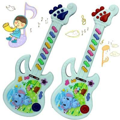Children Kids Plastic Guitar Keyboard Musical Instrument Educational Toys Gifts • 7.06£