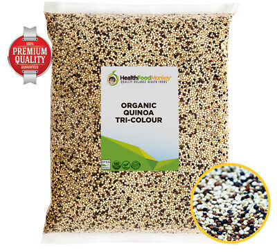 AU15.99 • Buy Organic Quinoa Tri-Colour (UK Certified Organic) **OFFER PRICE** White Red Black