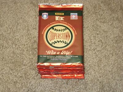 $23.99 • Buy LOT OF 10 - 2012 PANINI Cooperstown Baseball Hobby SEALED PACKS Find Rookies