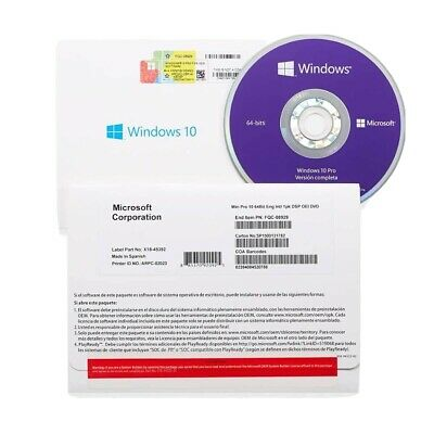 $ CDN95 • Buy Microsoft Windows 10 Professional Dvd And License