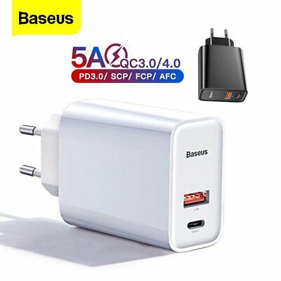 $ CDN22.48 • Buy Baseus 30W USB Type C Wall Charger QC4.0 PD3.0 Fast Charge Adapter For IPhone 12