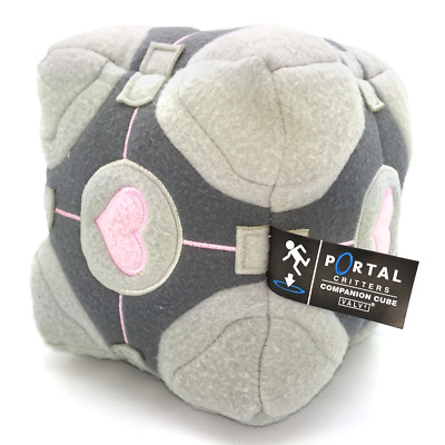 £18.27 • Buy Portal 1 2 Critters Wheatley Weighted Companion Cube Plush With Tags