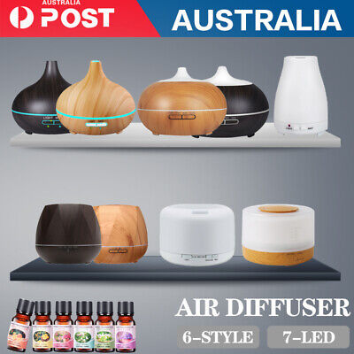 AU30.88 • Buy  Aroma Aromatherapy Diffuser LED Oil Ultrasonic Air Humidifier Purifier 160-550M