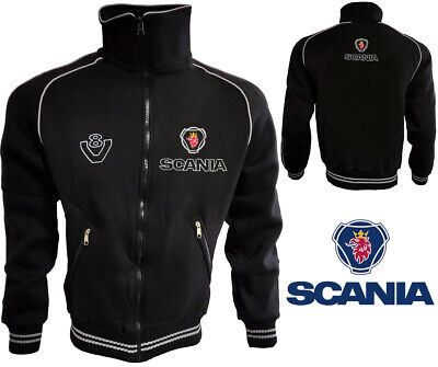 £29.81 • Buy Scania V8 Fleece Jacket Coat Jacke Veste Mantel Blouson Parka LKW TIR Truck Gift