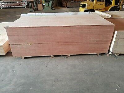 18mm Hardwood Faced Plywood Sheets 1220mm X 2440mm (8x4) Fully FSC Certified • 35.50£
