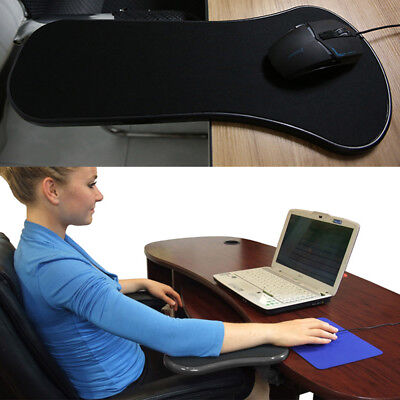 Computer Arm Rest Shoulder Support Mouse Pad Wrist Rest On Chair Desk • 8.09£
