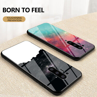 AU7.05 • Buy For OnePlus Nord 8/Pro 7 7T 6T 5T Luxury Gradient Case Tempered Glass Back Cover