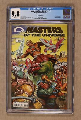 $185 • Buy Masters Of The Universe 1C Cover C Gold Variant CGC 9.8 2002 1401381044