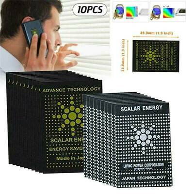 10 X Anti Radiation EMF EMR Protection Energy Saver Phone Laptop Sticker Tablet. • 2.15£