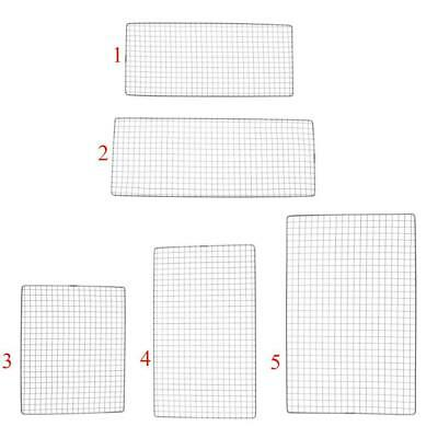 AU12.07 • Buy Barbecue Wire Mesh Stainless Steel BBQ Grill Mat