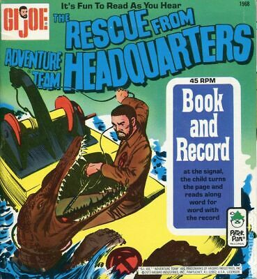 $ CDN34.67 • Buy GI Joe Rescue From The Adventure Team Headquarters 1968-R VG 1973 Stock Image